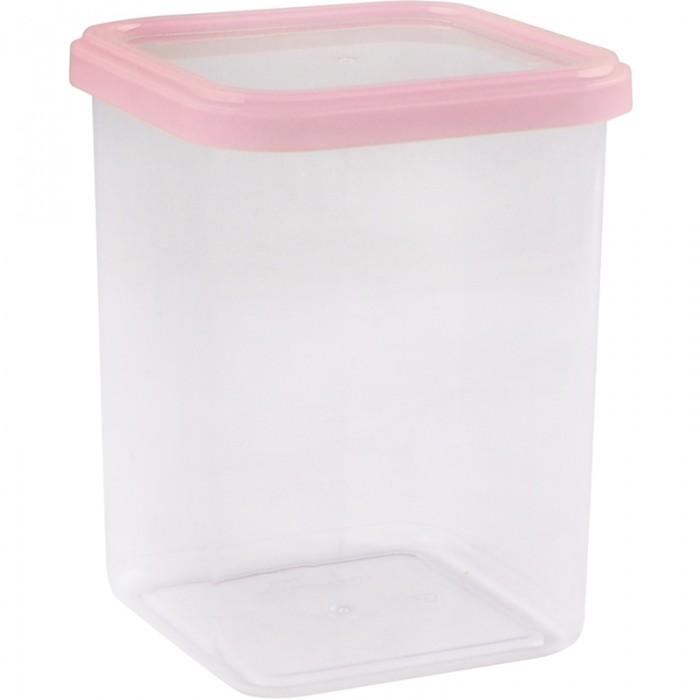 Контейнеры для еды Полимербыт Банка для сыпучих продуктов Forma Light Cubbo 1.2 л банка для сыпучих продуктов loraine 27808 розовый белый 170 мл