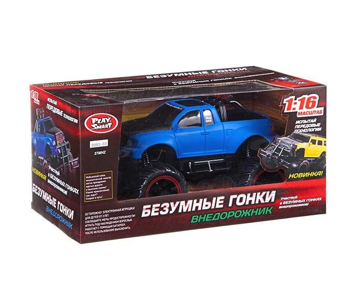 Картинка для Радиоуправляемые игрушки Play Smart Радиоуправляемый джип Внедорожник FullFunc Безумные гонки М1:16