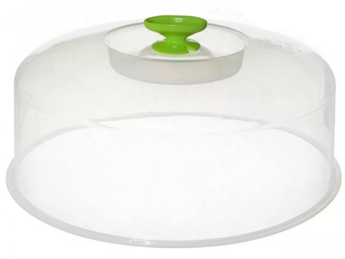 Картинка для Посуда и инвентарь Полимербыт Крышка для СВЧ 270 мм