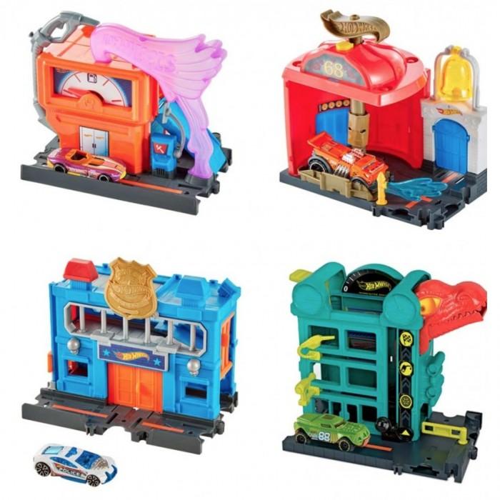 Машины Hot Wheels Игровой набор Сити Мега