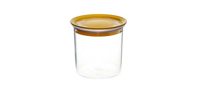 Контейнеры для еды Полимербыт Банка для сыпучих продуктов с вакуумной крышкой 0.6 л банка для сыпучих продуктов loraine 27808 розовый белый 170 мл