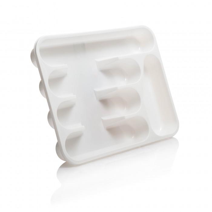 Картинка для Посуда и инвентарь Полимербыт Лоток для столовых приборов 33х26х4.5 см