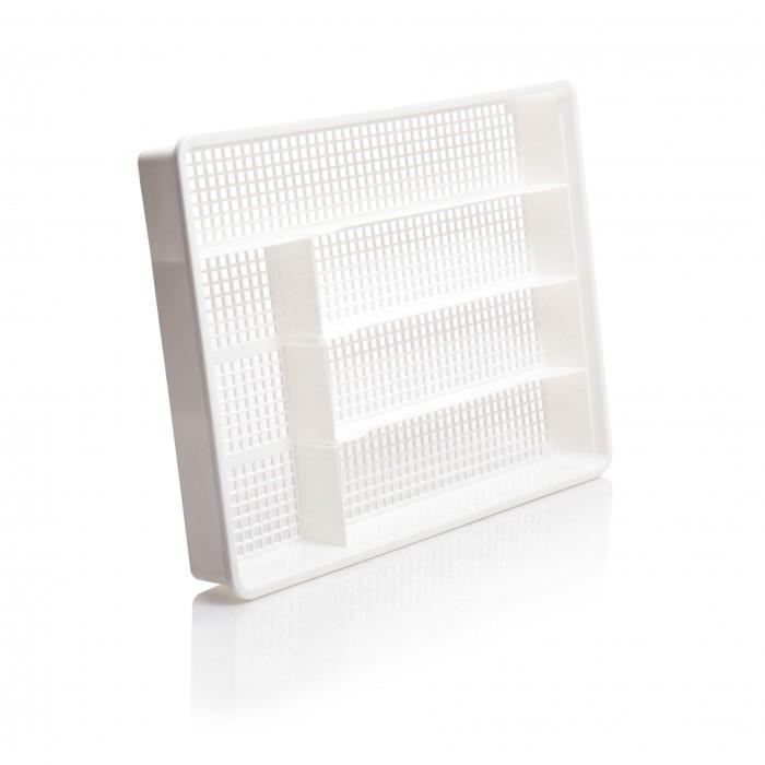 Картинка для Посуда и инвентарь Полимербыт Лоток для столовых приборов 34х25.5х4.5 см