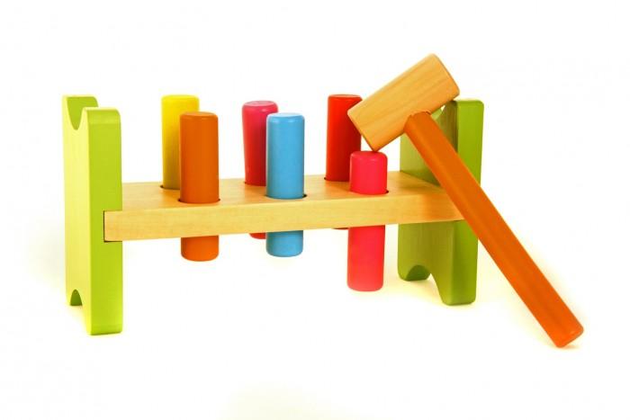 Деревянные игрушки Viga Забей гвоздик деревянные игрушки viga пазл морские обитатели