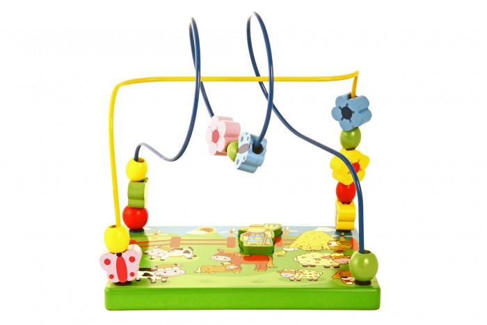 Купить Деревянные игрушки, Деревянная игрушка Viga Лабиринт Ферма