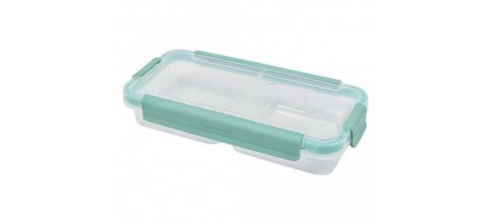 Картинка для Контейнеры для еды Plast Team Емкость для продуктов двойная прямоугольная Copengagen 0.4 л