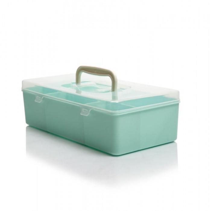 Картинка для Хозяйственные товары Полимербыт Ящик для мелочей 284х144х85 мм