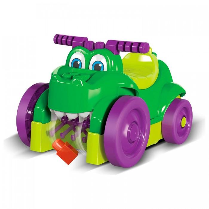 Картинка для Каталка Mega Bloks Машинка-крокодил