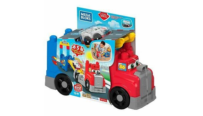 Конструктор Mega Bloks Большая Машинка для гонок