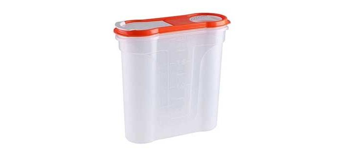 банка для сыпучих продуктов gipfel darna 1 л Контейнеры для еды Полимербыт Банка для сыпучих продуктов Стайл 2.2 л
