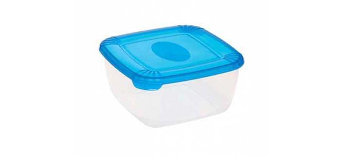 Контейнеры для еды Plast Team Емкость для хранения продуктов квадратная Polar 2.5 л емкость для хранения monochrome средняя черная 1 л