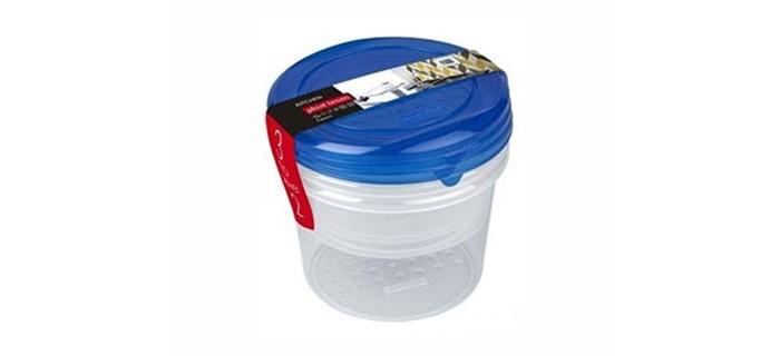 Картинка для Контейнеры для еды Plast Team Набор круглых емкостей для продуктов Pattern 0.5 л 3 шт.