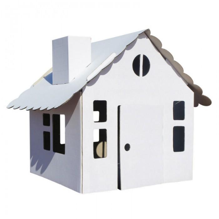 Кукольные домики и мебель Балуем и Балуемся Домик-раскраска Домик в деревне