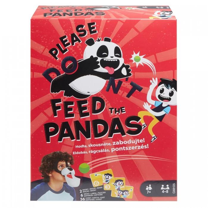 Mattel Игра настольная Покорми панду