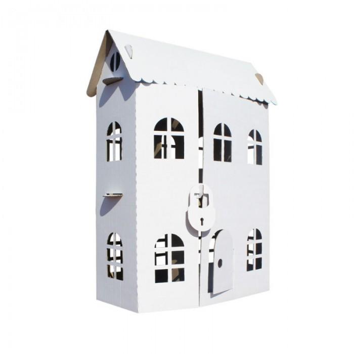 Кукольные домики и мебель Балуем и Балуемся Домик-раскраска Домик принцессы куклы раскраска