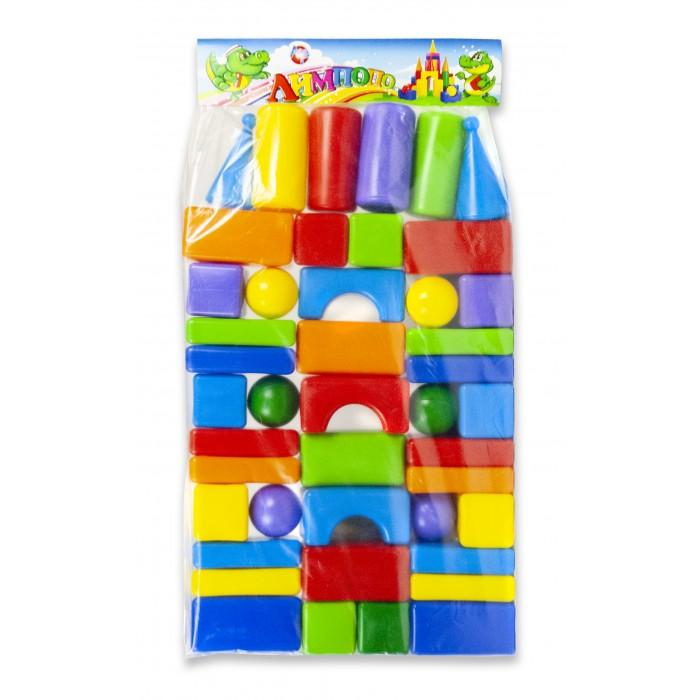 Развивающие игрушки Алекс Тойз Кубики строительный набор 44 шт.