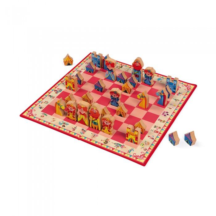 Настольные игры Janod Игра настольная шахматы Луна-парк