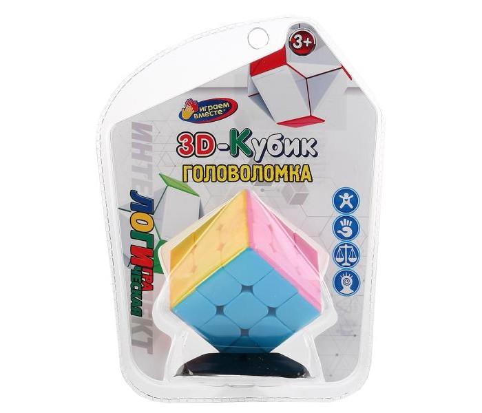 Настольные игры Играем вместе Логическая игра Кубик на подставке