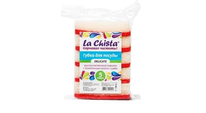 Хозяйственные товары La Chista Губки для посуды Delicate 5 шт.