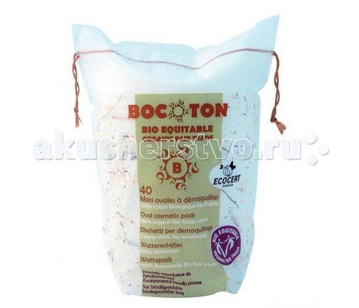 Bocoton Ватные диски Овальные 40 шт.