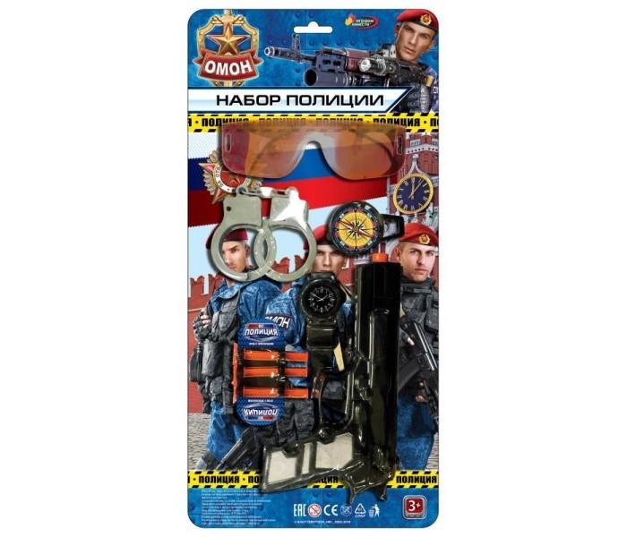 Фото - Ролевые игры Играем вместе Набор полиция 1703Y167-R набор играем вместе маленький ученый фабрика слизи tx 10017