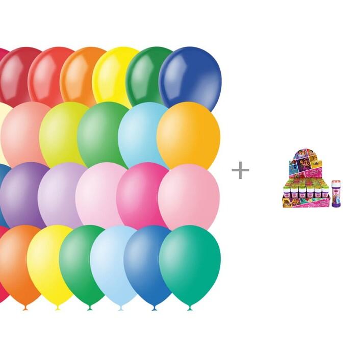 товары для праздника поиск воздушные шары ассорти флюорисцентные 100 шт Товары для праздника Поиск Воздушные шары ассорти пастель + декор 100 шт. и мыльные пузыри Disney Принцессы 50 мл