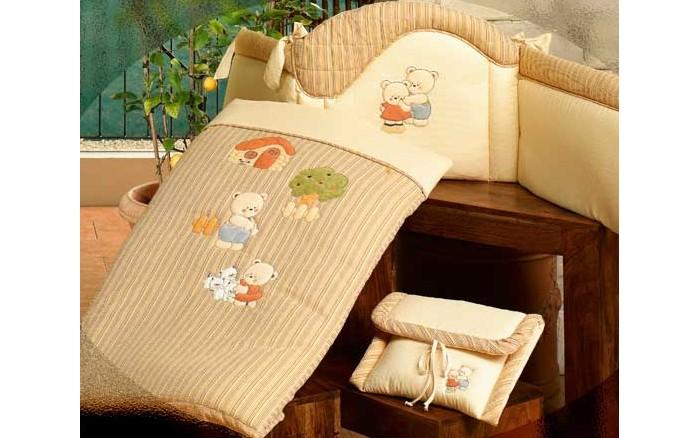 Одеяло BabyPiu Biba - одеяло из ткани пике 150х115 для кроваткиBiba - одеяло из ткани пике 150х115 для кроваткиТкань окрашенная с тиснением и линиями. Центральная вышивка на одеялке и двойная аппликация на бортиках.<br>