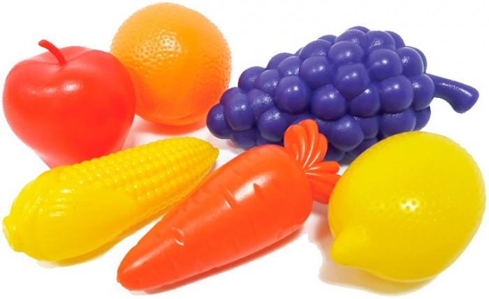 Фото - Ролевые игры Гринпласт Набор Овощи и фрукты 6 шт. ролевые игры гринпласт набор овощи и фрукты 6 шт