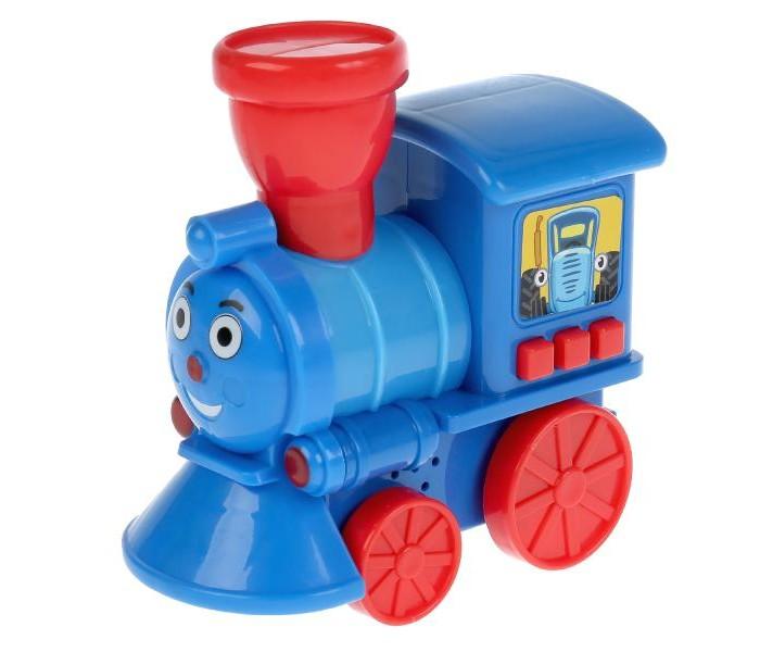 Картинка для Электронные игрушки Умка Музыкальный паровозик Синий трактор