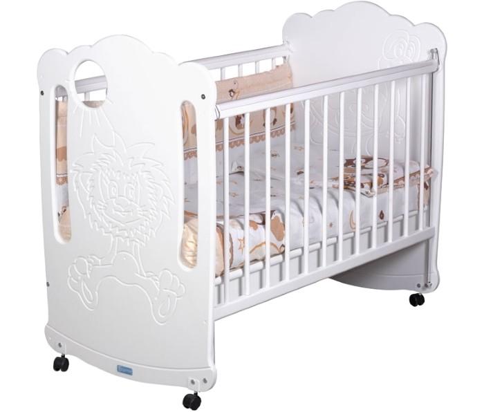 Детские кроватки Сиди-М №1 Львенок и черепаха
