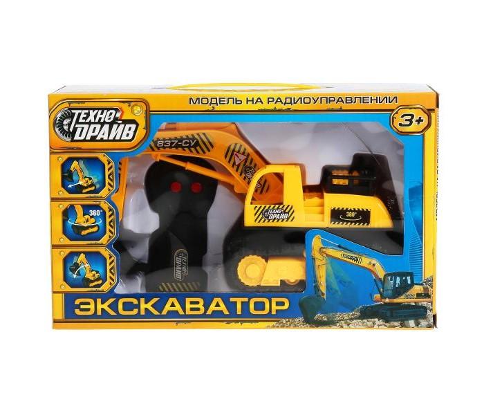 Радиоуправляемые игрушки Технодрайв Экскаватор на радиоуправлении B1103331-R
