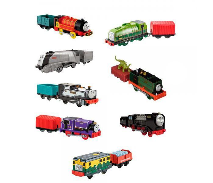 Купить Железные дороги, Mattel Thomas & Friends Экспериментальный моторизованный паровозик