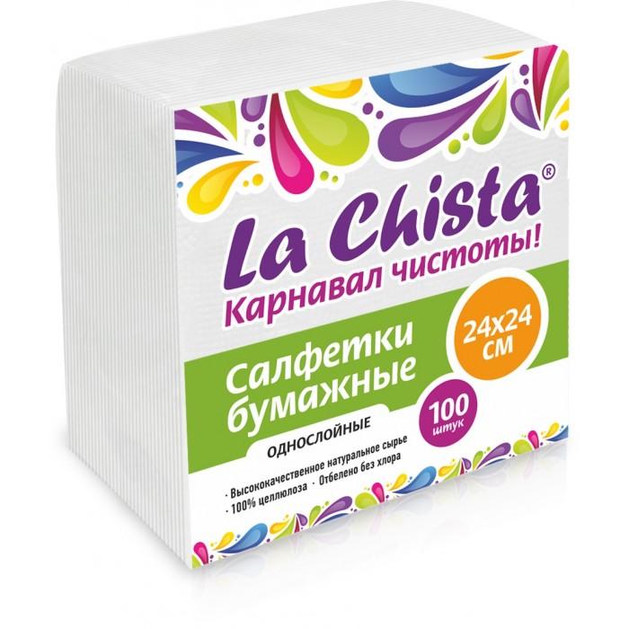 Хозяйственные товары La Chista Салфетки бумажные 100 шт. салфетки бумажные world cart товары для дома белый