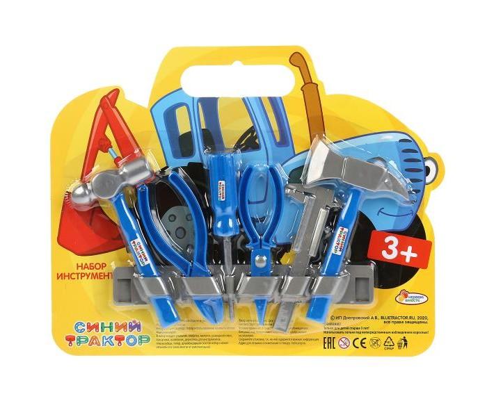 Картинка для Ролевые игры Играем вместе Набор строительных инструментов Синий трактор