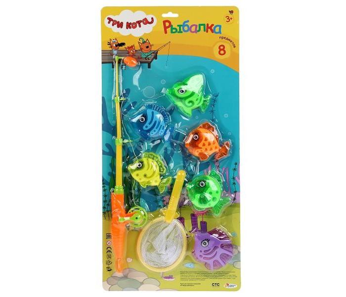 Картинка для Игрушки для ванны Играем вместе Игра рыбалка Три кота 1703V180-R