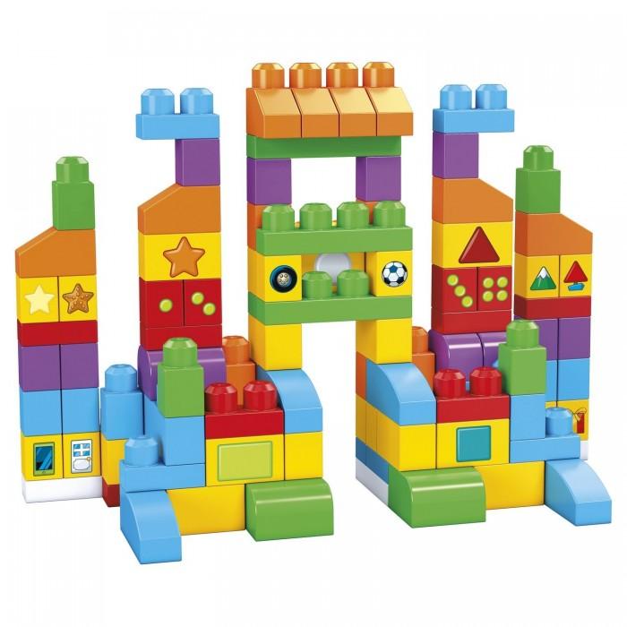 Конструктор Mega Bloks Набор обучающих блоков 150 деталей