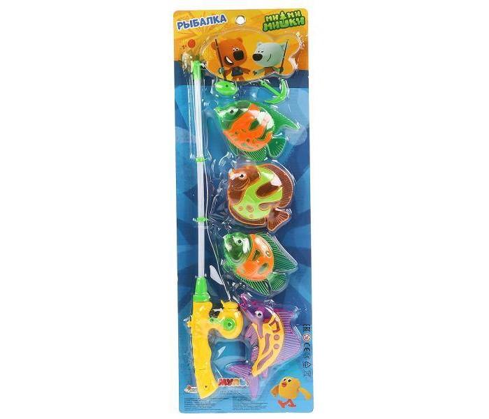 Игрушки для ванны Играем вместе Игра рыбалка Ми-Ми-Мишки B917363-R3 пузыри мыльные играем вместе ми ми мишки 50мл 219159