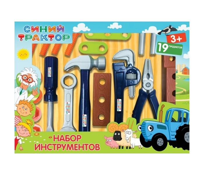 Картинка для Ролевые игры Играем вместе Набор строительных инструментов Синий трактор ZY930811-R