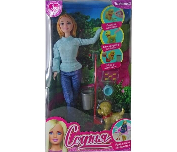 Фото - Куклы и одежда для кукол Карапуз Кукла София с питомцем 29 см K134175 куклы и одежда для кукол карапуз кукла принцесса софия 46 см 14666pri ru