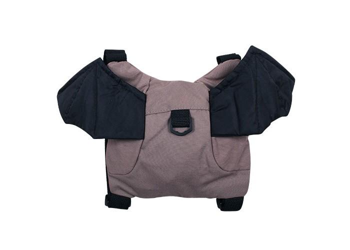 Защита на прогулке Бусинка Вожжи-рюкзачок Летучая мышь