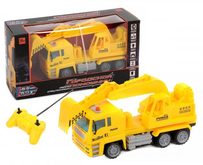 Купить Радиоуправляемые игрушки, BeBoy Грузовик с ковшом на радиоуправлении IT105250