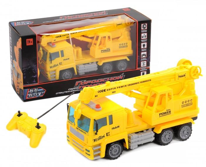 Купить Радиоуправляемые игрушки, BeBoy Грузовик с краном на радиоуправлении IT105252