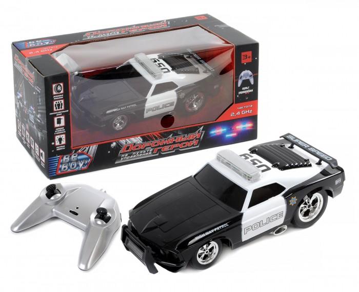 Радиоуправляемые игрушки BeBoy Машинка на радиоуправлении Полиция IT105242