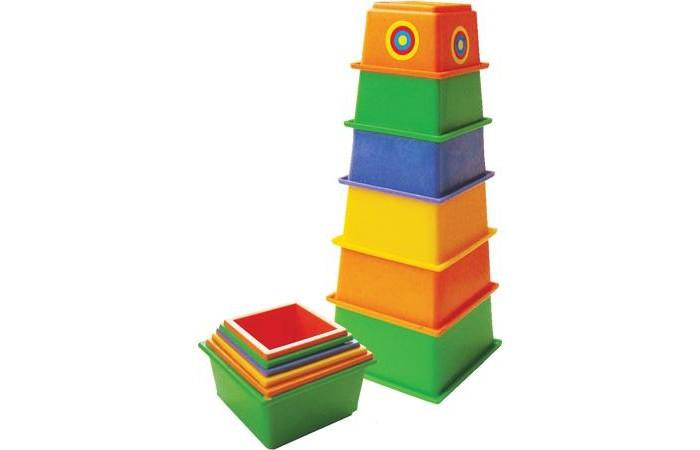 Развивающие игрушки Плэйдорадо Пирамида Маяк развивающие игрушки spiegelburg пирамидка baby gluck
