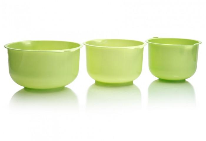 Картинка для Посуда Полимербыт Набор мисок для кухни 3 шт.