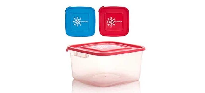 Контейнеры для еды Полимербыт Контейнер для замораживания продуктов 1 л контейнер для продуктов 4 6 л gipfel fresh on 4806