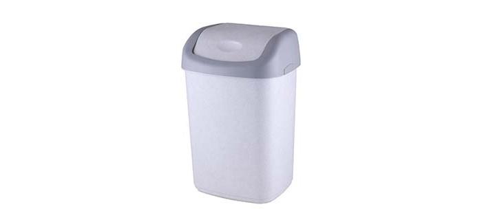 Картинка для Хозяйственные товары Полимербыт Контейнер для мусора 14 л