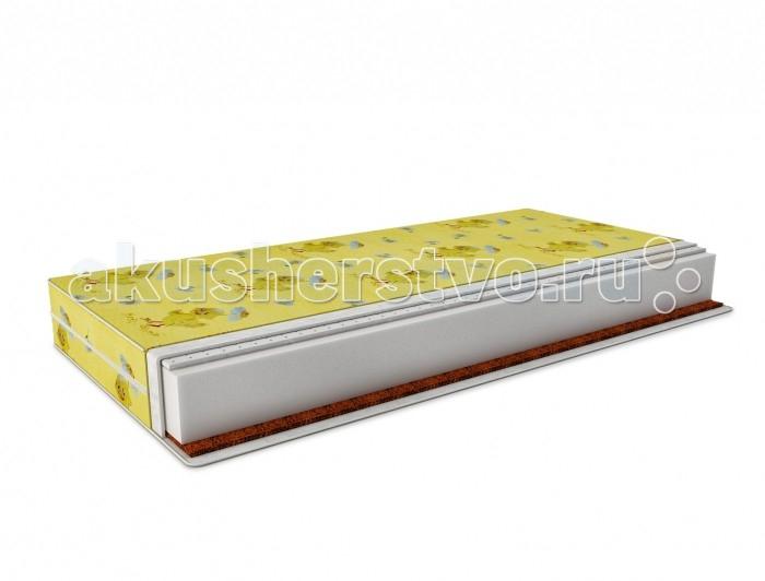 Матрасы Татами Латекс-кокос Холлкон (бязь) 120х60 см татами кокос maxi бязь 120х60 см