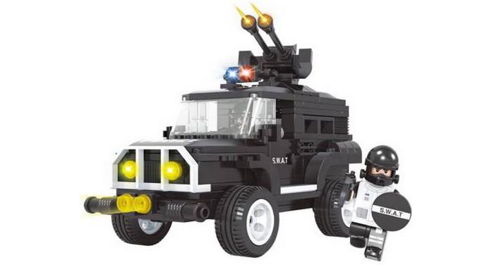 Картинка для Конструкторы Ausini Полиция (206 деталей)