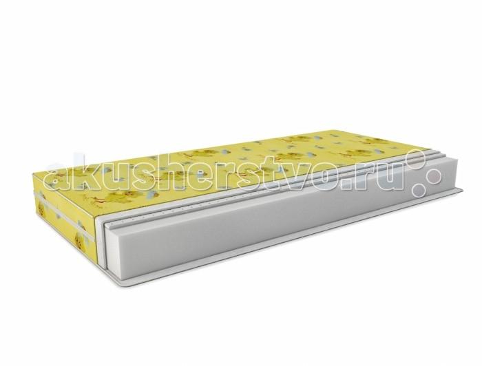 Матрас Татами Латекс-стандарт Холлкон (бязь) 120х60 см